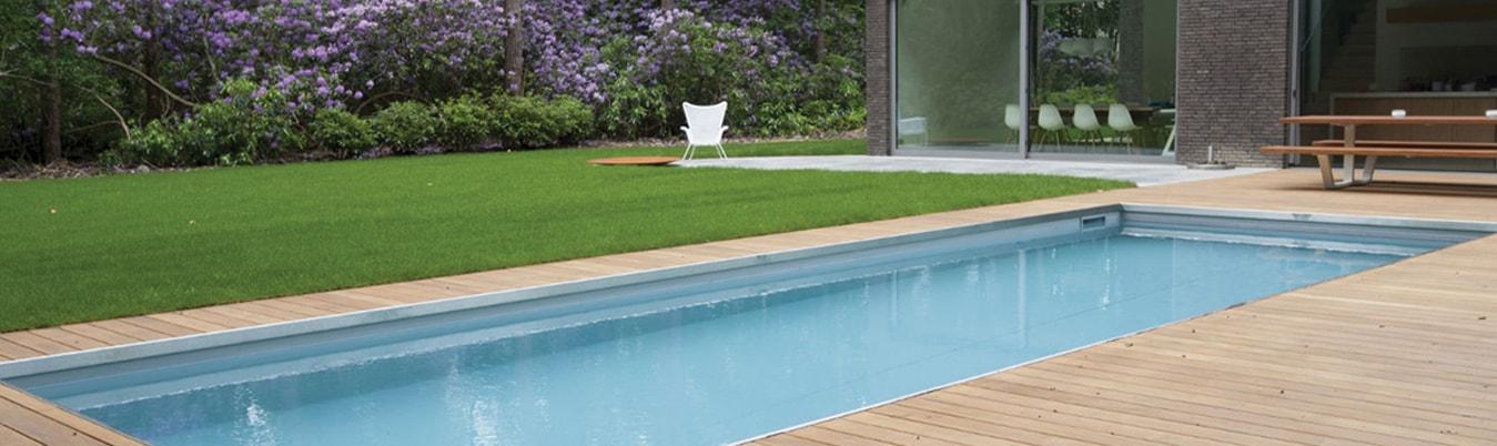 Kunstgras onder uw zwembad garden sense kunstgras brabant for Zwembad leggen